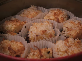 coconut macaroon slices